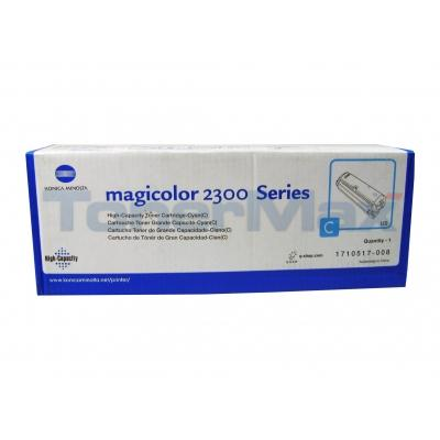 QMS MAGICOLOR 2300 TONER CYAN 4.5K